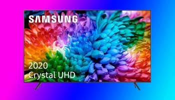 מכירה קבוצתית על טלויזיה חכמה סמסונג 55 אינצ' 4K דגם 2020 מהסדרה החדשה! דגם UE55TU7072 !