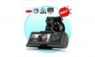 מצלמת רכב דו כיוונית R300 שכוללת רכיב GPS מובנה