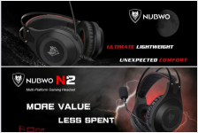 אוזניות גיימינג של המותג NUBWO  ! מתאימות ל PS4/Xbox  וגם למחשב!