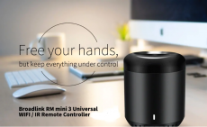 השלט האוניברסלי המומלץ Broadlink RM mini3 Universal WiFi / IR – בית חכם בכסף קטן!