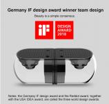 רמקולים שקופים ואלחוטיים! זוכי פרס העיצוב גרמניה 2018!   OVEVO D18 3D 1 in 2
