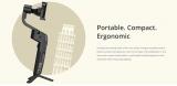 הגימבל הכי שווה שיש MOZA Mini – S Foldable 3-axis Gimbal עם מייצב במחיר מטורף!!!
