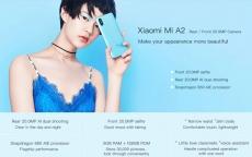 חדש! Xiaomi Mi A2 בכל הדגמים – עם רום גלובלי!