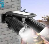 תאורה סולארית לחצר / כניסת הבית! מוגנת בפני מים ועם חיישן תנועה