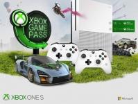 """חם! קונסולת Xbox One S 1TB (נפח גדול) + 2 שלטים + 3 חודשי Gamepass וגם 14 ימי מנוי Gold Live – כל זה ב- 1,050 ש""""ח"""