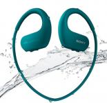 המחיר צונח! אוזניות השחייה של סוני WS413 כולל נגן 4GB מובנה בצבע תכלת רק ב- 49.99$ כולל משלוח