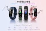 רצועת הכושר של HUAWEI Honor Band 5  דגם גלובלי כולל עברית!