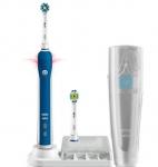 מברשת שיניים חשמלית של אורל-בי דגם Braun Oral B 4000 3D רק ב- 63.90$
