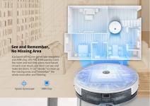 שואב אבק רובוטי Alfawise V8S PRO E30B – גם שואב וגם שוטף!