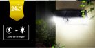 נורת לד סולארית מומלצת  MPOW CD174 – כוללת חיישן תנועה, עמידות לגשם ואור עוצמתי!