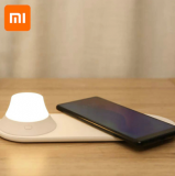 Xiaomi-משטח טעינה אלחוטי הכולל מנורת לילה קטנה