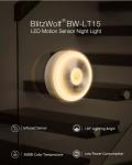 מנורת לילה עם גלאי תנועה של המותג  BlitzWolf® BW-LT15 – במכירה מוקדמת ומחיר משתלם!