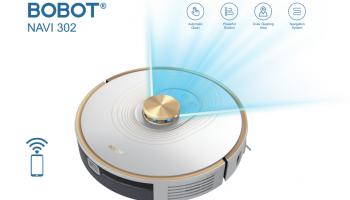 שואב אבק רובוטי  שואב/שוטף  BOBOT NAVI 302