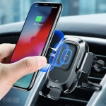 מעמד לסמארטפון לרכב משולב בטעינה מהירה של חברת Baseus