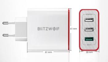🔥מטען הקיר BlitzWolf® BW-PL2 30W QC3.0🔥