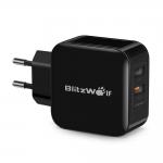 מטען ביתי לטלפון הסלולרי שלכם של המותג האיכותי  BlitzWolf®  ! מחיר משתלם במיוחד!