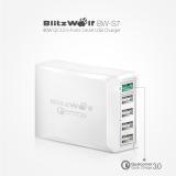 ? מטען מהיר BlitzWolf BW-S7 QC3.0 40W 5 USB Charger ⭐️⭐️⭐️