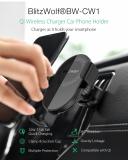 מתקן סלולר לרכב בעל טעינה אלחוטית מבית בליצוולף – BlitzWolf BW-CW1 10W 360°Rotation Qi !!