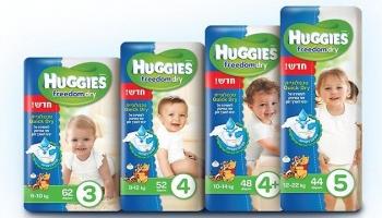 אמבט וטיפול בתינוק – Huggies חיתולים KSP