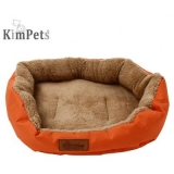 Kimpets Denim Fabric Soft Water Resistance Pet Dog Cat Bed House