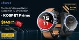 שעון חכם חדש בהשקה בלעדית של אתר גירבסט ! KOSPET Prime 4G !