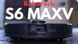 שואב אבק רובוטי מבית שיאומי ROBOROCK S6 MAXV !