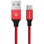 כבל Micro USB משוריין במחיר מבצע של Baseus!
