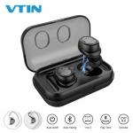 אוזניות TWS דגם Vtin T8 : עמידות למים וזיעה בתקן IPX5, בלוטוס 5.0 , וקופון בלעדי!