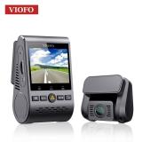 מצלמת הדרך הכפולה Viofo A129 Duo (קדמית ואחורית) עם GPS במחיר מעולה, חובה בכל רכב!