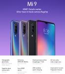 סמארטפון XIAOMI MI 9- גירסת 64/4 GB