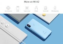 הסמארטפון Xiaomi Mi A2 בגרסה גלובאלית 4GB/64GB עם מטען מקורי (יש חריץ הרחבת זיכרון) כולל ביטוח מסים!