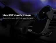 מטען סלולרי אלחוטי עוצמתי 20W +סטנד לרכב מבית שיאומי   – Xiaomi Mi WCJ02ZM 20W